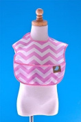 Toddler Bib Lavender Chevron