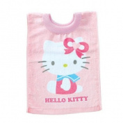 Hello Kitty Baby Bib Towel Pull-over Cotton Pink