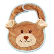 Bukowski Soft Plush Viggo Teddy Bib Stuffed Animal Toy 20.3cm X 30.5cm