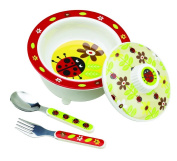 Sugar Booger Feeding Collection Covered Bowl Gift Set