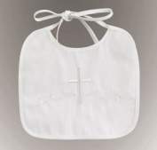 *Hot Seller* Embroidered Boy's Christening Bib