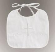 *Hot Seller* Embroidered Boy's Christening Bib