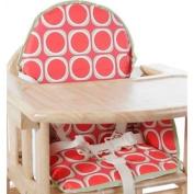 East Coast Watermelon Highchair Insert Cushion