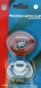 Philadelphia Eagles Pacifier with Clip