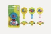 Sesame Street Pacifier and Holder ***Assorted Colours***