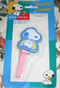 Peanuts Baby Snoopy Pacifier Holder - Baby Snoopy, Baby Woodstock