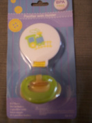Pacifier with Holder Clip ~ Train