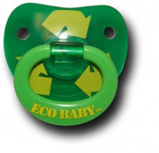 "Billy Bob Teeth ""Eco Baby"" Green Pacifier"