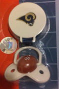 ST. LOUIS RAMS BABY PACIFIER
