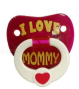Billy Bob Teeth 90019 I Love My Mommy Pacifier