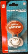 New York Jets Pacifier with Clip