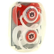 NCAA Auburn Tigers Two Pack of Baby Paciifers - Jenkins Enterprises