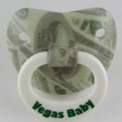 Billy Bob Teeth 90011 Vegas Baby Pacifier