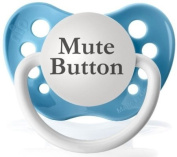 Mute Button (Blue) - Expression Pacifier