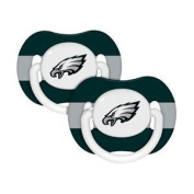 Philadelphia Eagles Pacifiers 2 Pack Safe BPA Free