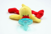 "Wubbanub Plush Pacifier ""Duck"""