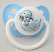 Blue Pacifier with Duck (PBD)