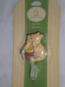 A Bear and His Things Pacifier Attacher, Mint Green