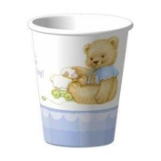 Sweet Bear Blue Baby Shower/Party Cups