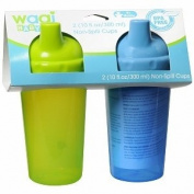 Wagi Non Spill Cups, 2 ea