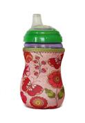 Kidzikoo Baby Bottle/Sippy Cup Insulator - Flowers & Butterflies