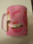 Lenticular Tumbler with Handle ~ Sweet Treats