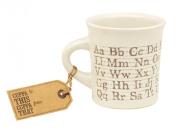 Ore Originals Living Goods Cuppa This Cuppa That Mug Alphabet
