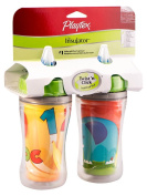 Playtex Insulated Twist 'n Click Straw Cup 270ml - 2 Pack