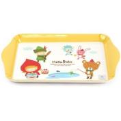 Lock & Lock Hello Bebe Storytelling Educational Design Baby Feeding Rectangular Mini Plate