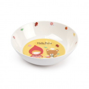 Lock & Lock Hello Bebe Storytelling Educational Design Baby Feeding Bowl, Big