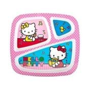 Zak!® Hello Kitty Three-section Tray