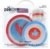 Ocean Dinnerware 5 Piece Set by Zoocchini