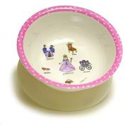 Baby Cie Melamine Dinnerware Suction Bowl - Princess