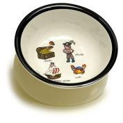 Baby Cie Melamine Dinnerware Suction Bowl - Pirate