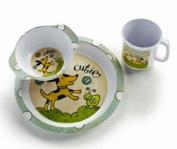 Puppy Dish Set - Baby Dinnerware Set