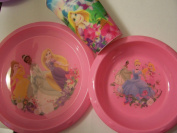 Disney Princess Tablesetting (15.55 oz cup, Plate, Bowl)