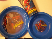 Spiderman Spidesense Tablesetting (15.55 oz cup, Plate, Bowl)