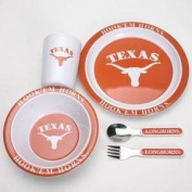 Texas Little Sport's Dinner Set
