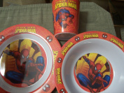 Spiderman Spider-sense Melamine Tablesetting
