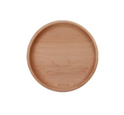 Camden Rose Large Maple Wooden Plate, 25.4cm dia
