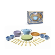Cookware and Dinnerware Set - 27 Piece Set