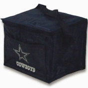 Dallas Cowboys Insulated 6 Pack Cooler / Lunch Tote