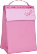 Trudeau Triangular Lunch Bag, Pink