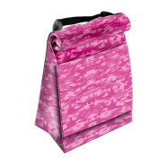 LUNCH TOTE ROLL DOWN PINK CAMO
