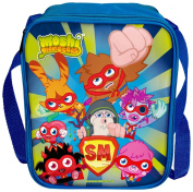 Moshi Monsters Blue Insulated Lunch Bag Lunchbag