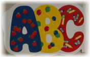 ABC Vinyl Placemat Set of 2