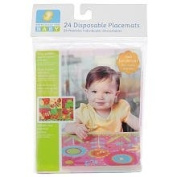 Especially for Baby 24 Disposable Place Mats Table Toppers - Girls