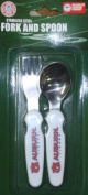 Auburn Tigers Childs Fork & Spoon Set