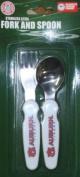 Auburn Tigers Childs Fork & Spoon Set