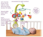 Taf Toys MP3 Stereo Mobile, a Combination of Music, Movement and Lights with Detachable Take-along Baby MP3 Player and 8 Pre-loaded Classical Melodies